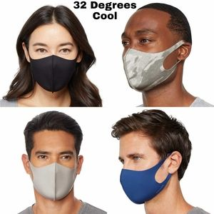 32 Degrees Cool Face Mask Cover Adult Unisex 1ct
